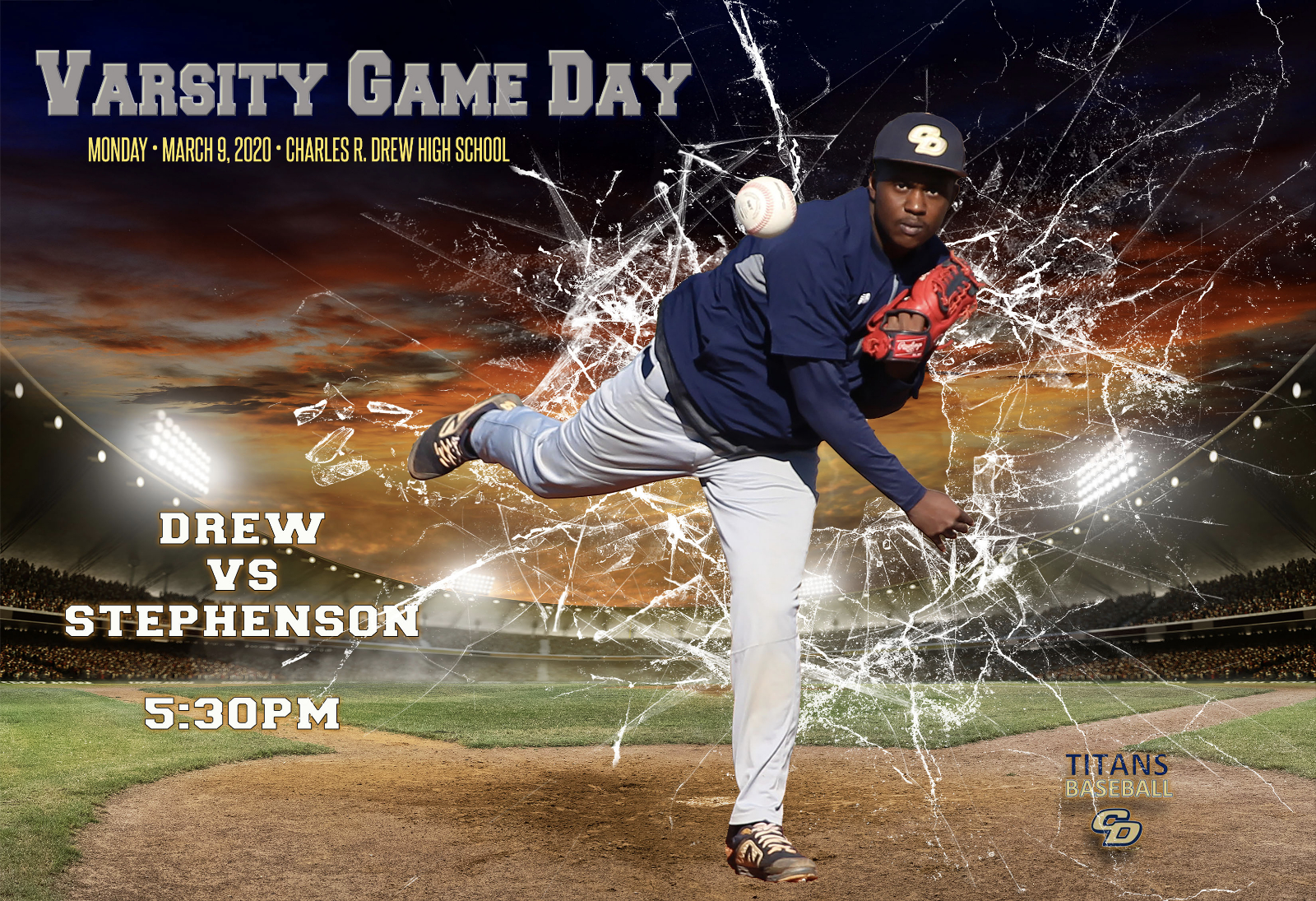 Gameday – Varsity Baseball Team To Host Stephenson Today In Regional Game