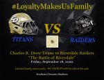 """Gameday – """"The Battle of Riverdale"""" – Varsity Football Team taking on Riverdale today"""