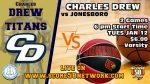 Varsity Basketball vs Jonesboro High School