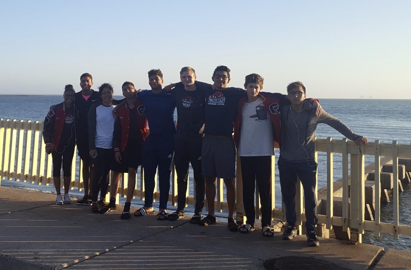The Swim Team takes on Corpus Christi TISCA