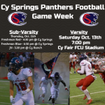 Football Takes on Cy Ranch