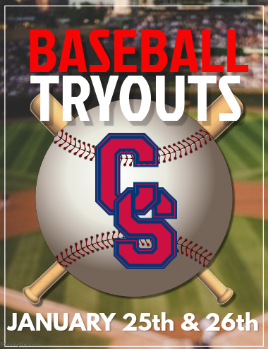2019 Baseball Tryout Information