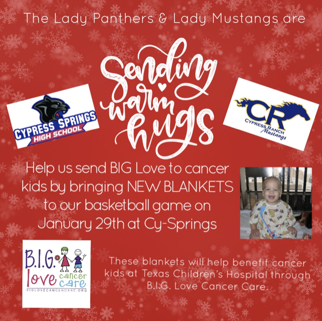 Lady Panther Basketball Blanket Drive