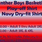 Boys Basketball Playoff Shirts!
