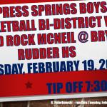 Basketball Bi-District Playoff Game