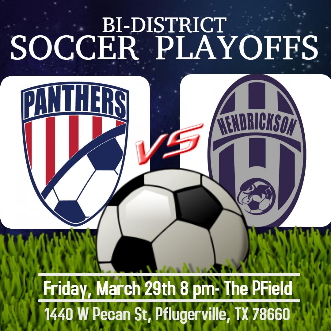Soccer Bi-District Match Up