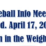 Summer League Baseball Parent Meeting