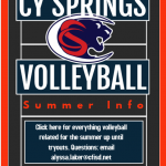Volleyball Info for Middle Schoolers/New to Volleyball/Returning Athletes