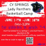 CY SPRINGS GIRLS BASKETBALL CAMP