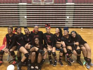 2017 Lady Bulldogs Volleyball Team