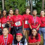 2017 Lady Bulldogs Cross Country Team