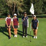 Lynbrook High School Girls Varsity Golf beat Cupertino High School 179-200