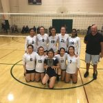 Lynbrook High School Girls Varsity Volleyball falls to Carlmont – Championship Game 2-0