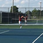 Adams Central High School Boys Varsity Tennis beat South Adams High School 4-1
