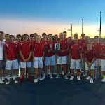 Adams Central High School Boys Varsity Tennis beat Bluffton High School 3-2
