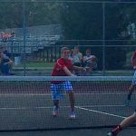 Adams Central High School Boys Varsity Tennis beat Churubusco High School 5-0