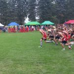 Adams Central High School Boys Varsity Cross Country finishes 8th place