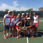 Adams Central High School Girls Varsity Tennis finishes 2nd place