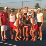 Adams Central High School Girls Varsity Tennis beat Jay County High School 5-0