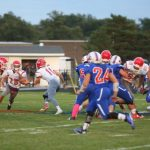 Adams Central Football Defeats Jay County 70-42