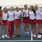 Girls Varsity Tennis beats Jay County 5 – 0
