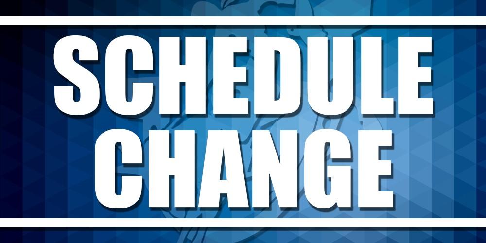 Winter Sports Schedule Changes