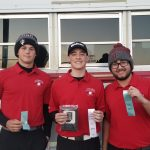 Boys Varsity Golf finishes 3rd place at ACAC