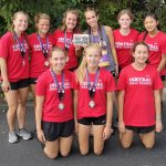 Girls Varsity Cross Country finishes 2nd place at Marion CC Invite