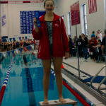 Brianna Cook wins Diving Sectional