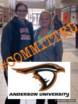 Carly Holley Commits to Anderson University