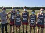 Boys Varsity Cross Country competes at the Norwell HS XC Invitational