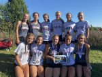 Girls Varsity Cross Country finishes 1st place at Marion CC Invite