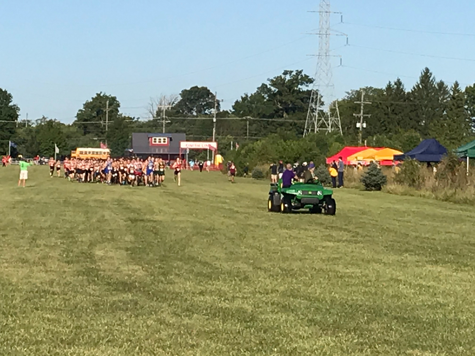 Marion Invite – Boys XC