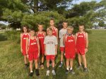 Boys Middle School Cross Country finishes 2nd place at Woodlan (AC/WD/Her)