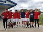 Boys Varsity Tennis sweeps South Adams 5 – 0 In Sectional Semi Finals