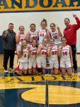 Girls Junior Varsity Basketball beats Frankton 33 – 22 to win Shenandoah JV Tournament!!