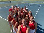 Girls Varsity Tennis Sweep Blackhawk Christian School 5 – 0