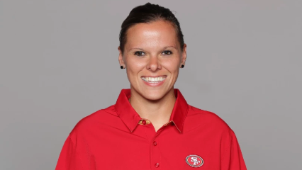 NFL's Second Female Coach Katie Sowers 'Making a Wave' with San Francisco 49ers