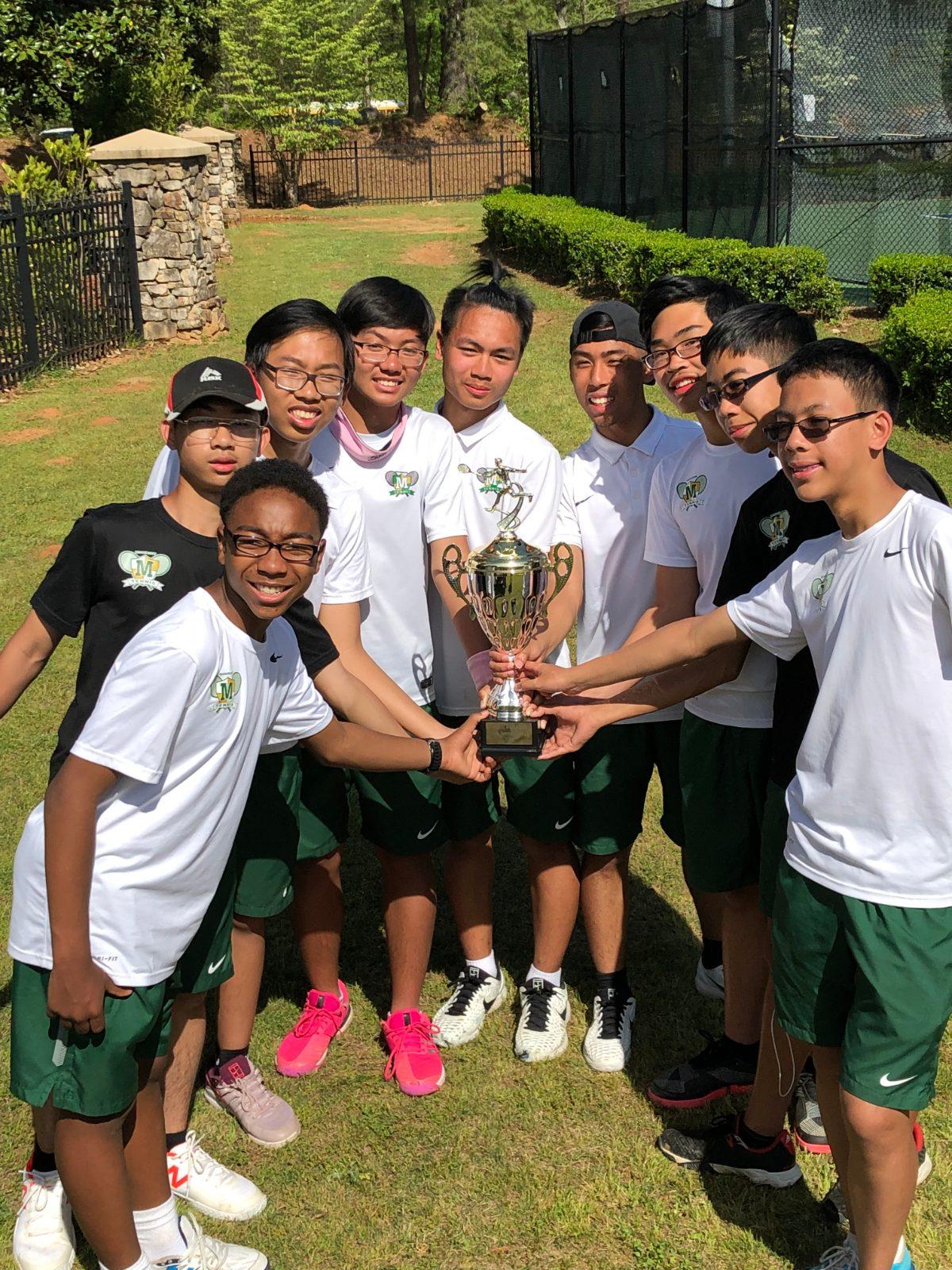 Morrow Boys Tennis Team Wins Region and Advances to State!