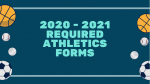 20-21 CCPS Athletic Forms