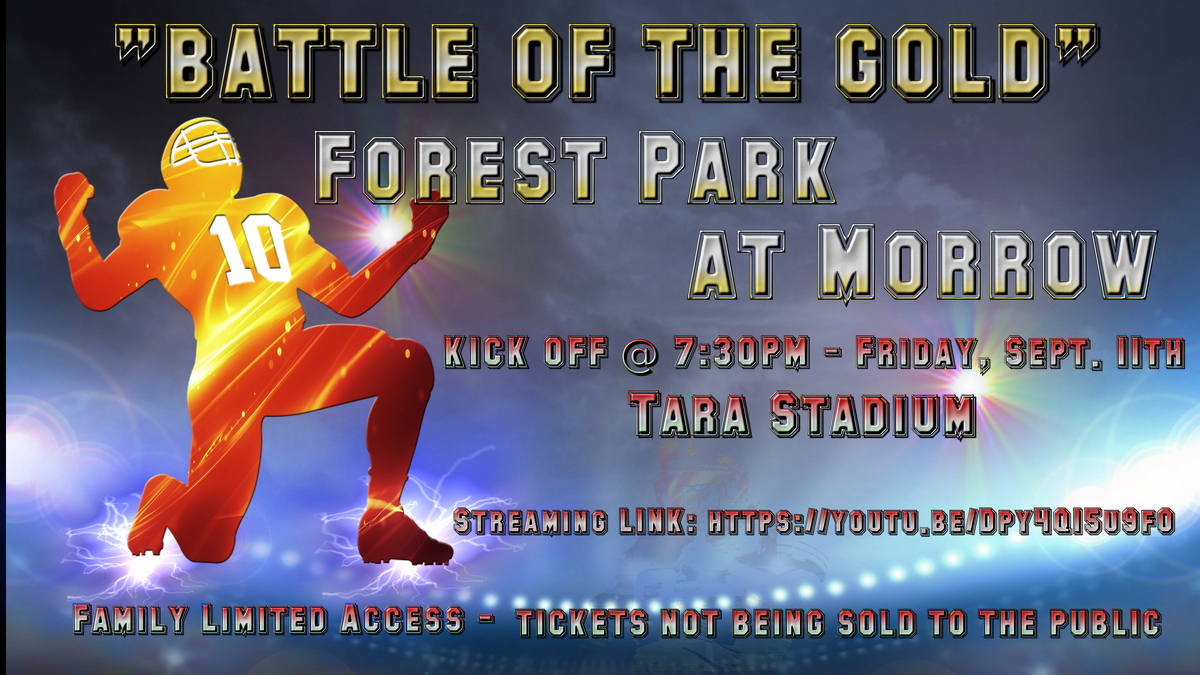 Battle of the Gold (Morrow vs. Forest Park)