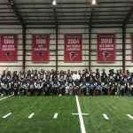 Raiders Visit Atlanta Falcons Training Facility