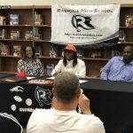 Moore Signs Football Scholarship to Baker University