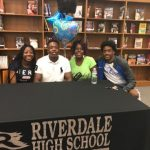 Douglas Signs Track Scholarship with Shorter University