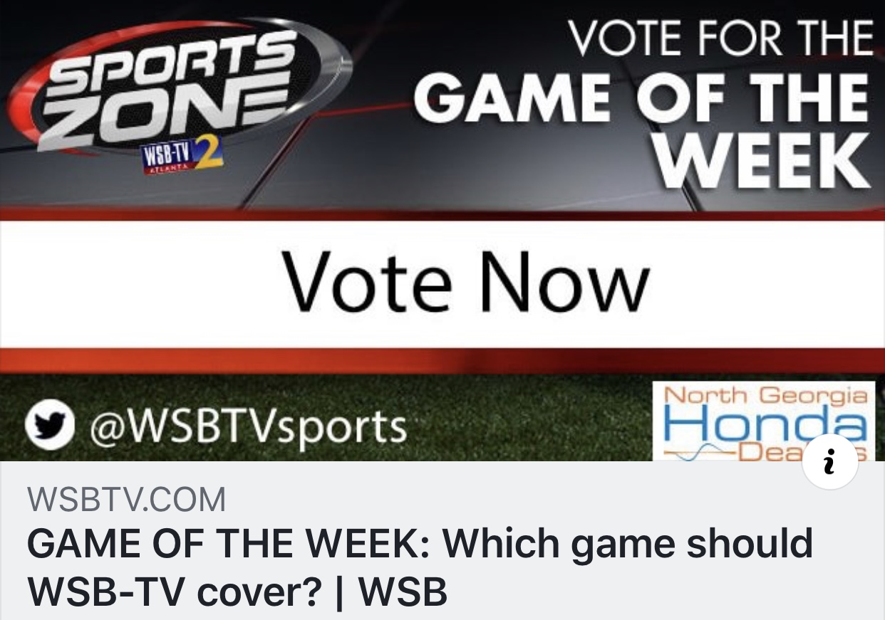 Go Vote!!! Riverdale vs. Griffin Game of the Week