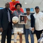 Blossomgame Shines on Senior Night, hits 3 to beat NC 57-56