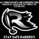 GHSA Suspends All Spring Sports till March 27!!!