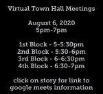 Virtual Town Hall Meetings