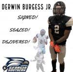 Burgess II signs with Georgia Southern