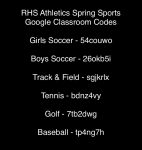 Interested in Spring Sports?